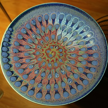Large Charger with a beautiful Glaze - Pottery
