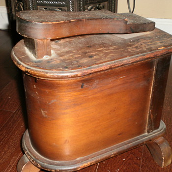 Shoeshine box...  - Shoes