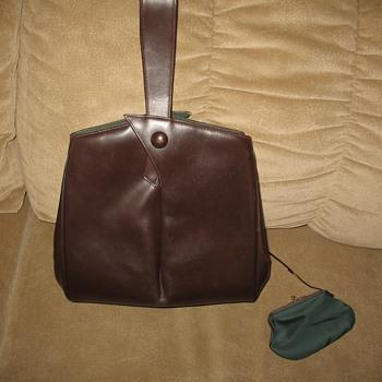 Elsa Schiaparelli Brown Calf Leather handbag