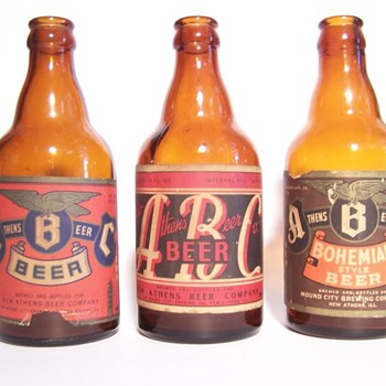 Steinie Beer Bottles
