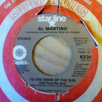 Al Martino 45 Record - Records