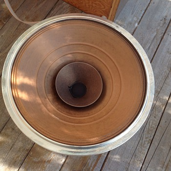 12 inch co axle 1960's speaker driver    - Electronics