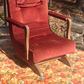Child's Platform Rocker - Furniture