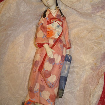 """""""CERAMIC CHINESE OR JAPANESE WOMAN"""" - Pottery"""