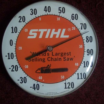 Stihl Thermometer - Advertising