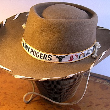 Roy Rogers, Feather Pillbox & Expandable Paper Hats - Hats