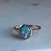 Antique 9CT Gold Opal Ring