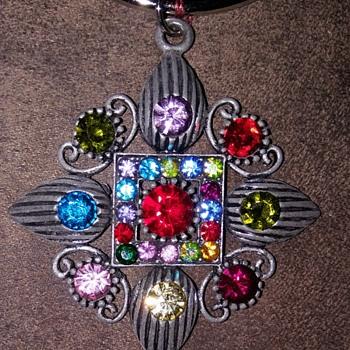 Multi colored keychain  - Costume Jewelry