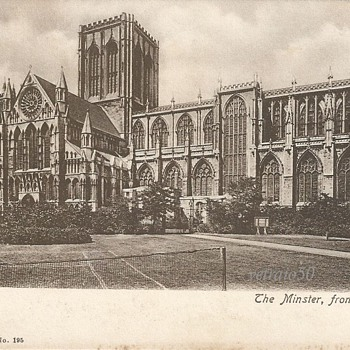 YORK. THE MINSTER FROM SOUTH. c.1900.