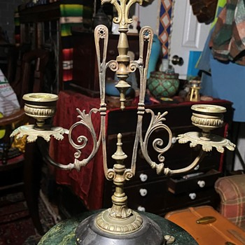 Victorian Double Candleholder - Lamps