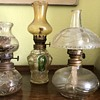 Set of 3 small oil lamps need identification