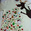 Ugly Holiday Sweater: the puking reindeer