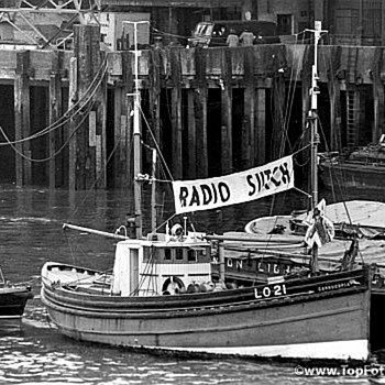 PIRATE RADIO 1964. ( RADIO SUTCH )