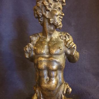 Bronze faun statue - Fine Art