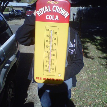 Royal Crown Cola Thermometer - Advertising
