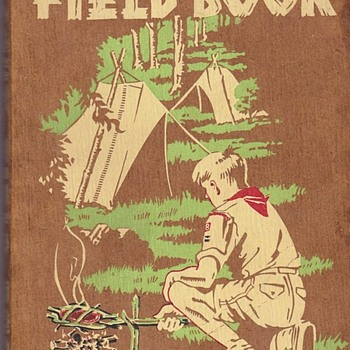Saturday Evening Scout Post Scout Field Book 1944 - Sporting Goods