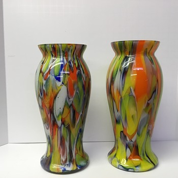 Confetti on Steriods - Art Glass