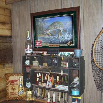 my favorite shop wall - Breweriana