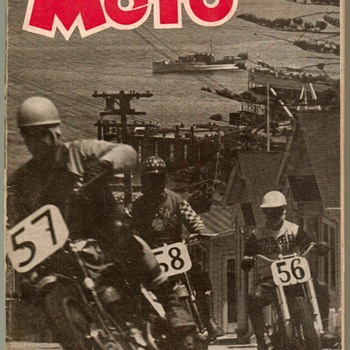 "1952 - ""MOTO"" Motorcycle Magazine (First Issue)"