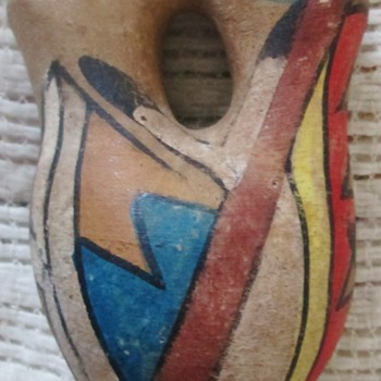 Tesuque Pueblo vase - Native American