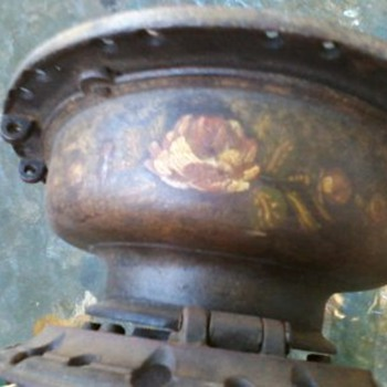 metal item with lots of holes  - Lamps