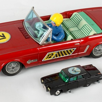 Yonezawa Ford Mustang Pace Car - Model Cars