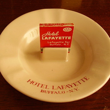 Hotel Lafayette, Buffalo, NY Vintage Ashtray - Tobacciana