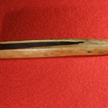 18th Century Chestnut Wood Clothes Pin