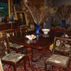 Victorian Diningroom Table & Chairs