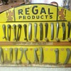 Regal Products window crank/door handle counter display.
