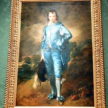 The Original Blue Boy at the Huntington Library - Fine Art