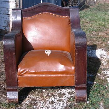 Antique Empire Chair - Furniture