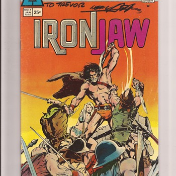 Atlas comics Ironjaw - Comic Books