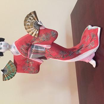 My grandmother's Japanese lady