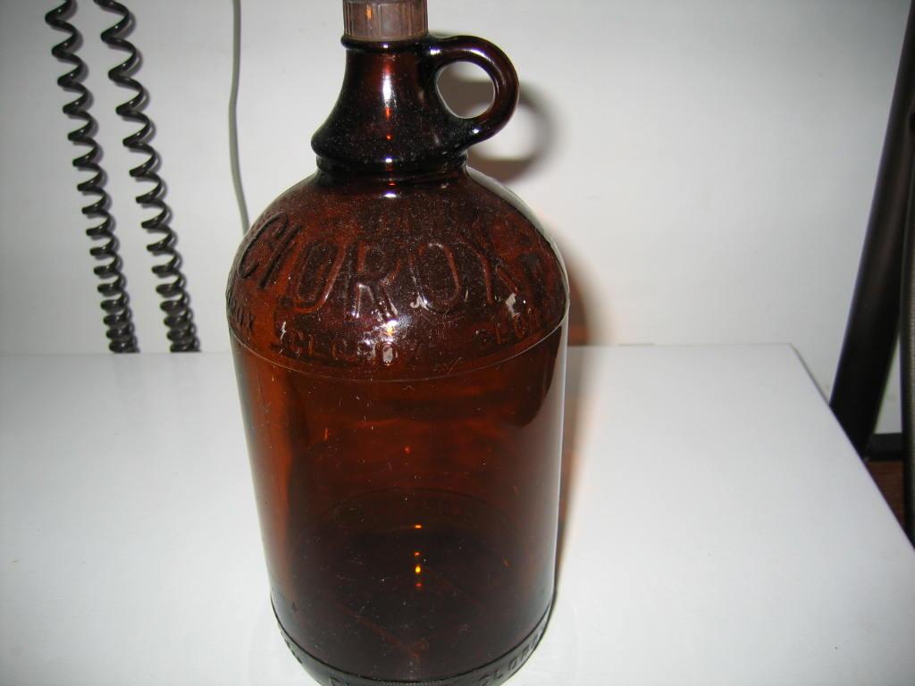 Clorox Glass Bleach Bottle Collectors Weekly