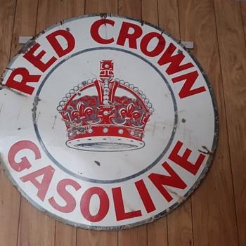 Enamel Petroleum Signs - Petroliana