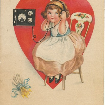 An Old Valentine - Cards