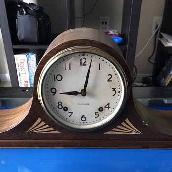 Tambour Mantel Clock - Clocks