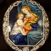 17th century Limoges enamel on copper Virgin and Baby Jesus. Part 2 after kyratisation!