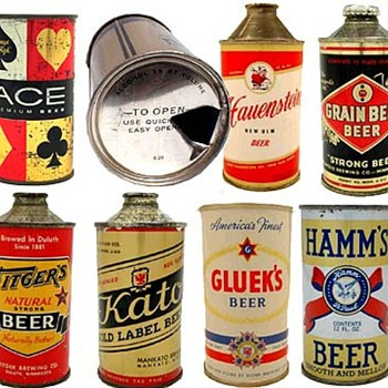 Minnesota beer cans - Breweriana