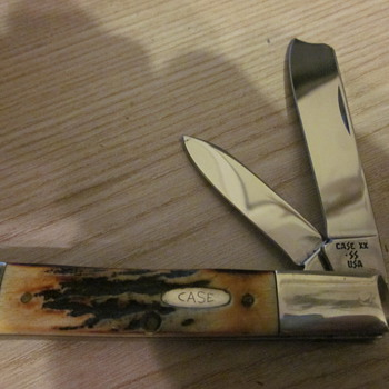 Case XX STAG one arm Razor Knife - Tools and Hardware