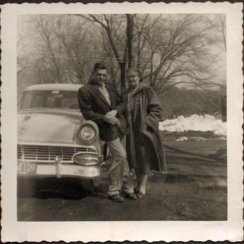 1956 - Family Photograph - Grandparents - Photographs