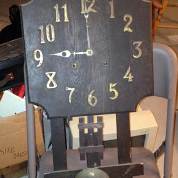 Antique wall clock - Clocks