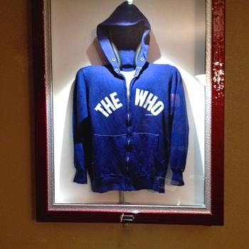 Keith Moon's Hoodie - Music Memorabilia