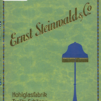 Ernst Steinwald and 'Kralik' décors! - Art Glass