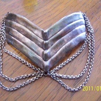 1920's large sterling pin - Fine Jewelry