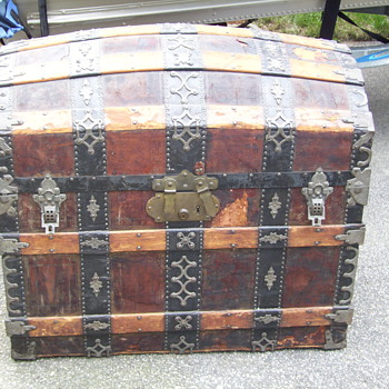 Large Ornate Trunk - Furniture