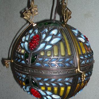 Art Nouveau Lamp - Lamps