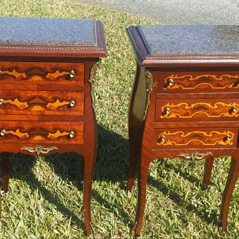 Interesting Night Stands And Table Lot - Furniture