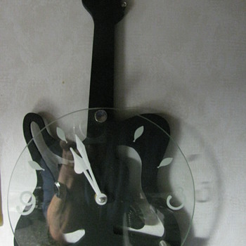 GUITAR CLOCK IN MY MUSIK ROOM !!!! - Music Memorabilia